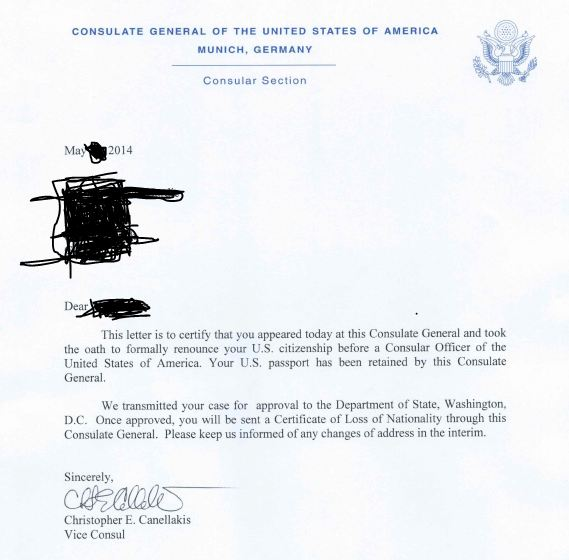 Letter To Uscis Officer from tax-expatriation.com